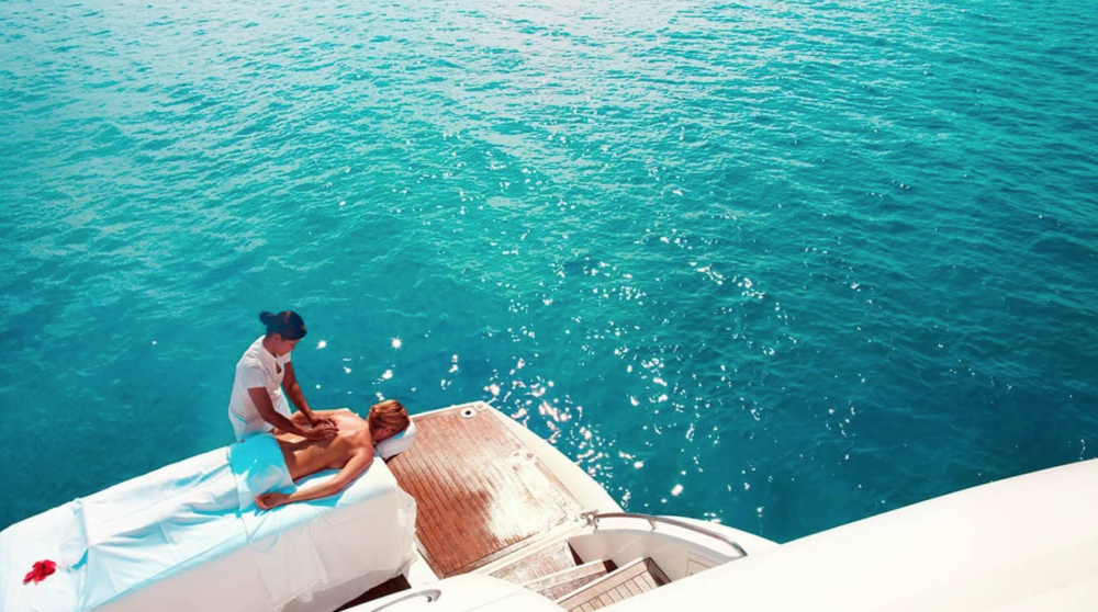 Wellbeing & Spa - Yacht Charter Experiences by Category | C&N