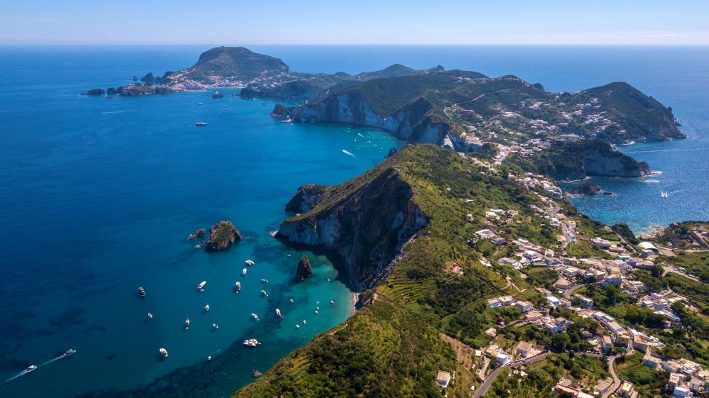 Naples, Porto Cervo & St Tropez - Amalfi to Ischia and Ponza - Luxury Charter Itinerary | C&N
