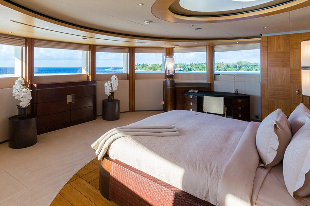 WHEELS - Luxury Motor Yacht For Charter - 1 MASTER CABIN - Img 1 | C&N