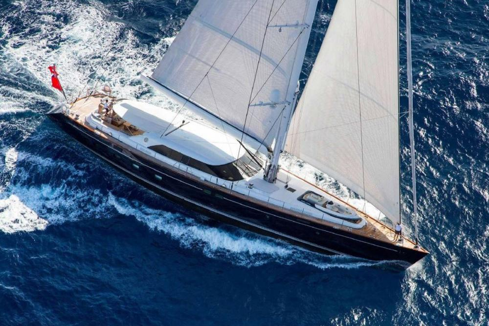STATE OF GRACE - Luxury Sailing Yacht for Charter | C&N
