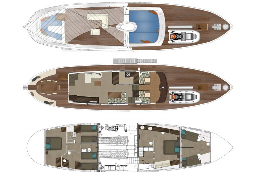MONARA - Luxury Motor Yacht For Charter -  - Img 1 | C&N