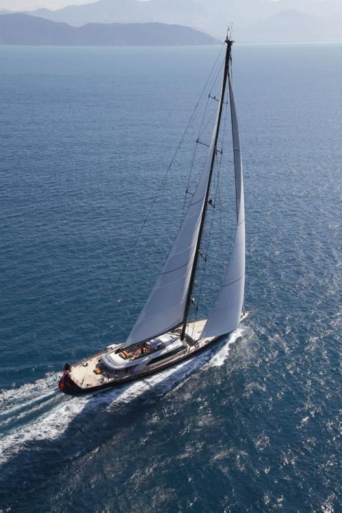 PERSEUS3 - Luxury Sailing Yacht For Charter - Exterior Design - Img 3 | C&N
