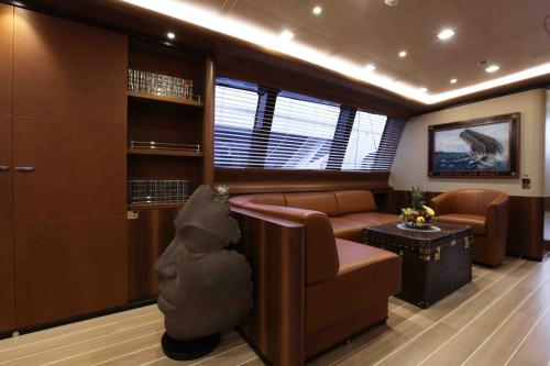 PERSEUS3 - Luxury Sailing Yacht For Charter - Interior Design - Img 2 | C&N