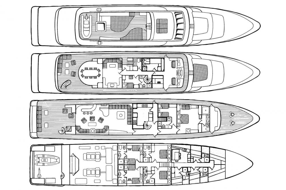 CD TWO - Luxury Motor Yacht For Charter -  - Img 1 | C&N