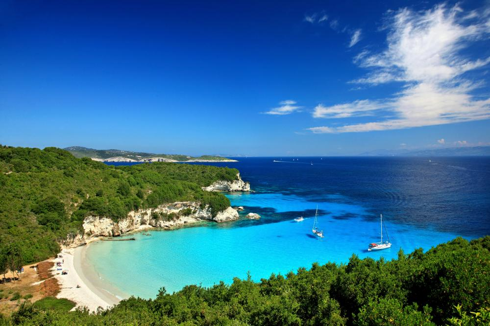 Athens to Corfu, Ionian - Antipaxos and Paxos - Luxury Charter Itinerary | C&N