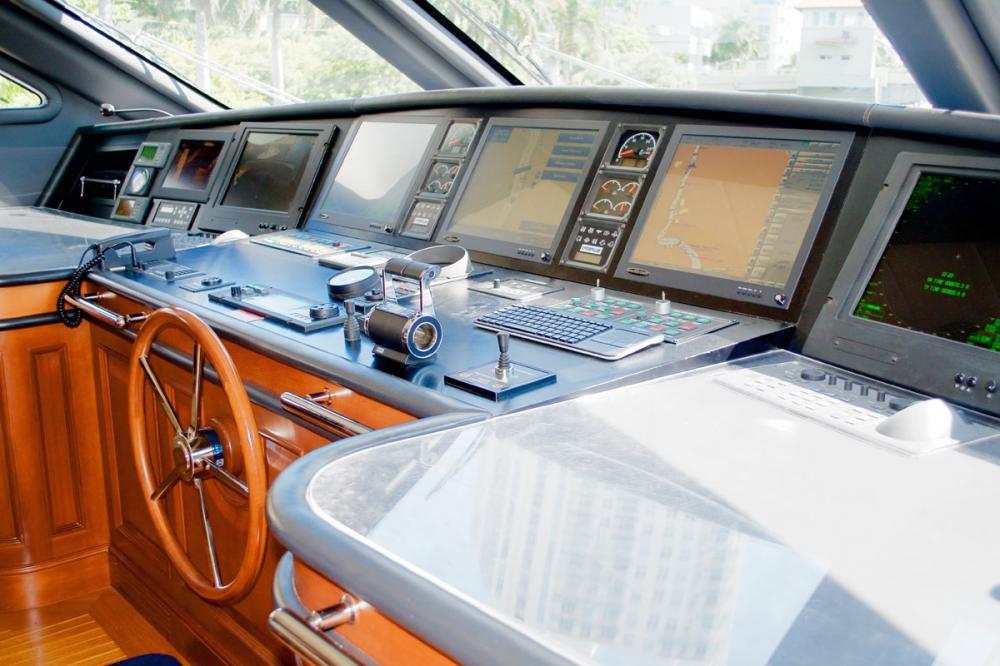 BRUNELLO - Luxury Motor Yacht For Charter - BRIDGE - Img 1 | C&N