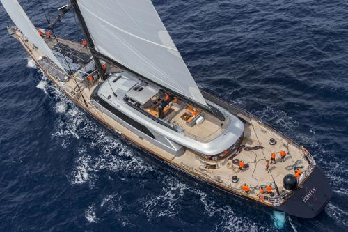 PERSEUS3 - Luxury Sailing Yacht For Charter - Exterior Design - Img 2 | C&N