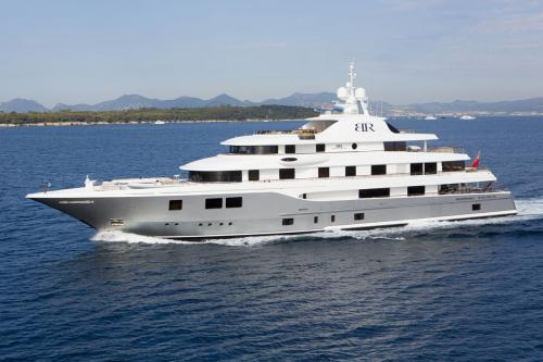 BATON ROUGE - Luxury Motor Yacht For Charter - Exterior Design - Img 1 | C&N