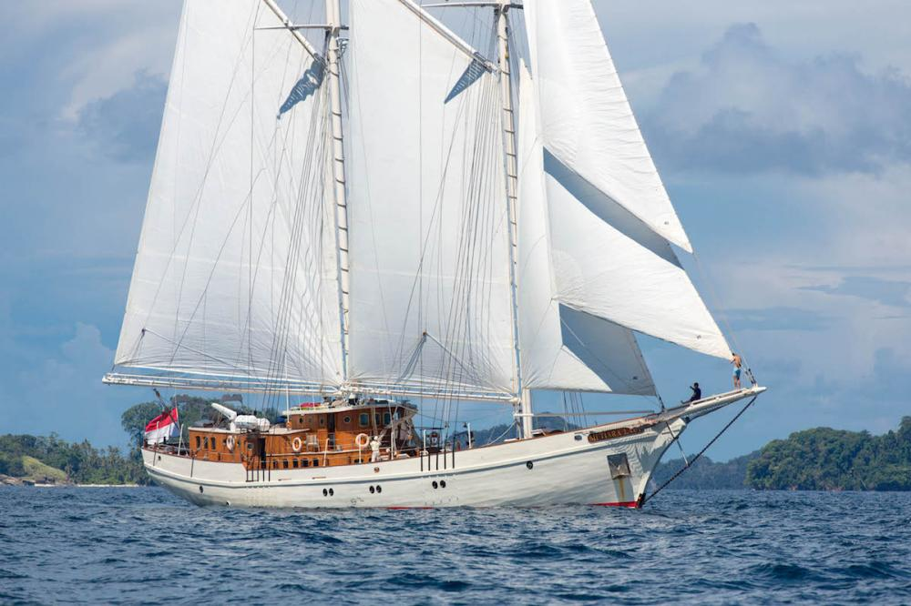 MUTIARA LAUT - Luxury Sailing Yacht for Charter | C&N