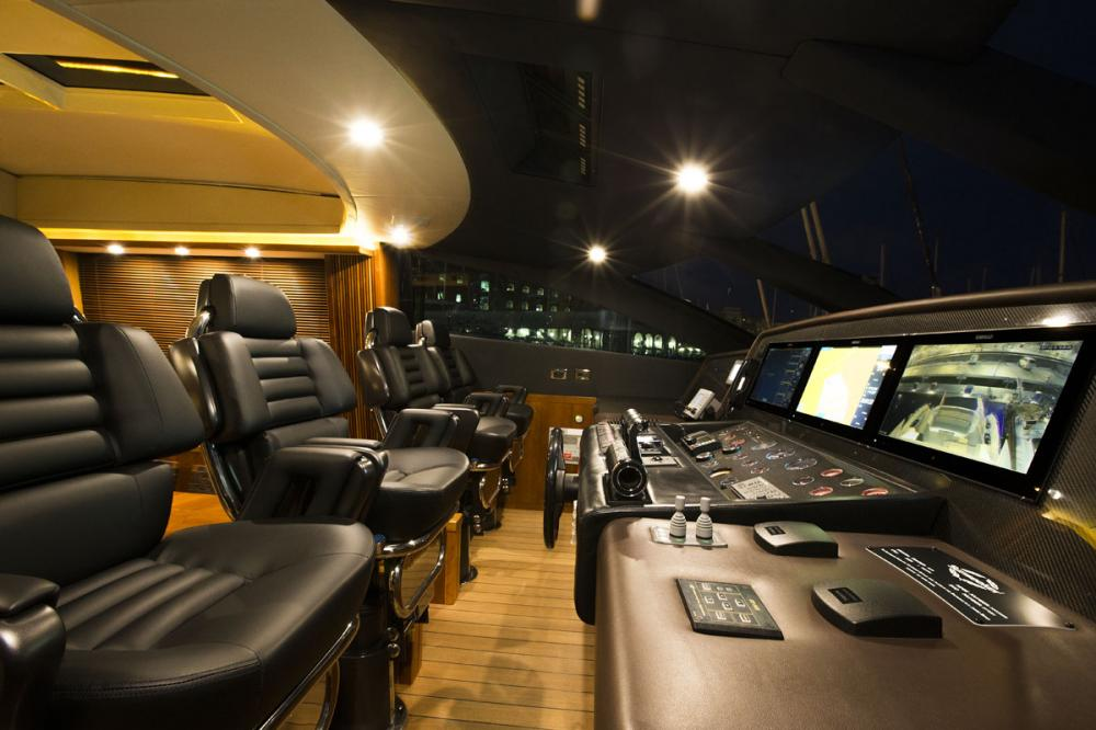 CASINO ROYALE - Luxury Motor Yacht For Charter - BRIDGE - Img 1 | C&N