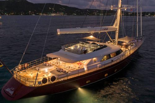 BLUSH - Luxury Sailing Yacht For Charter - Exterior Design - Img 2 | C&N