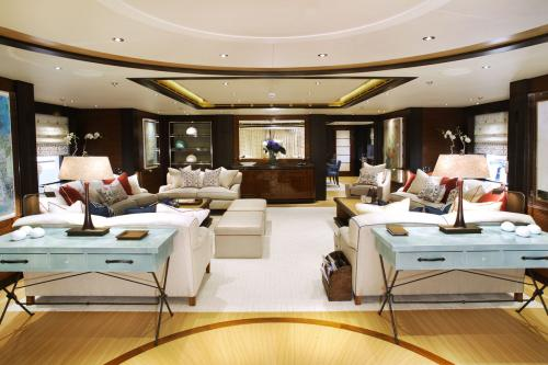 BATON ROUGE - Luxury Motor Yacht For Charter - Interior Design - Img 1 | C&N