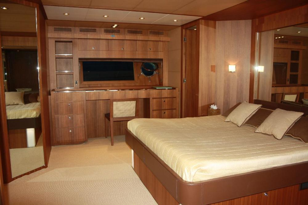 TAURUS - Luxury Motor Yacht For Sale - 1 MASTER CABIN - Img 2 | C&N
