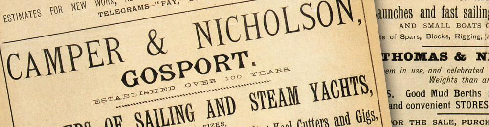 Learn more about Camper & Nicholsons Heritage - 1950 - Today | C&N