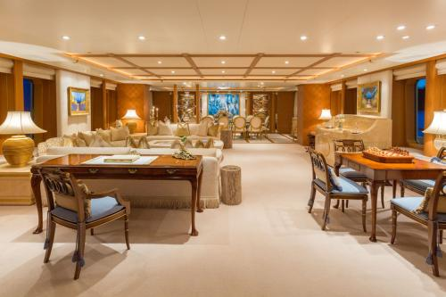 Callisto - Luxury Motor Yacht For Charter - Interior Design - Img 1 | C&N