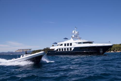 CLICIA - Luxury Motor Yacht For Sale - Exterior Design - Img 3 | C&N