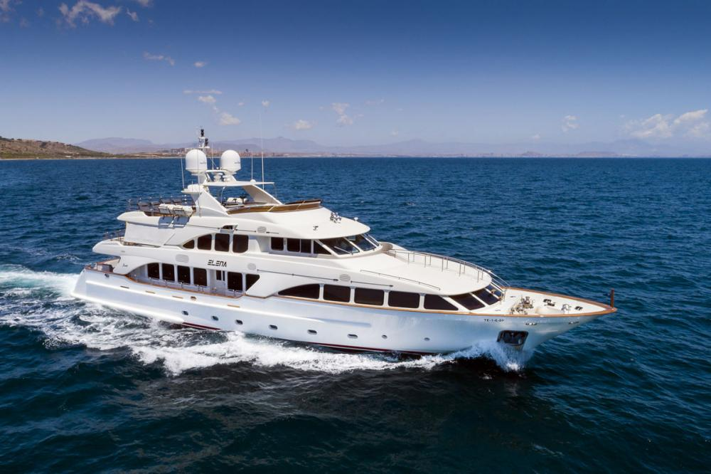 ELENA NUEVE - Luxury Motor Yacht for Charter | C&N