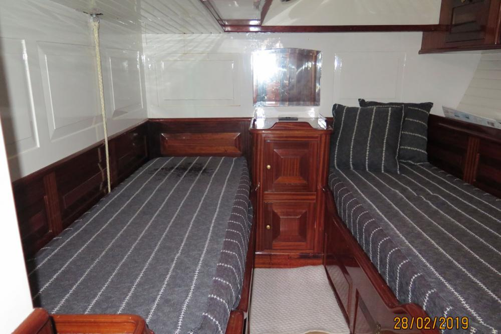 DON JUAN OF LONDON - Luxury Sailing Yacht For Sale - 1 MASTER CABIN | 2 GIUSET CABINS - Img 2 | C&N