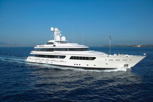 HURRICANE RUN - Luxury Motor Yacht for Charter | C&N