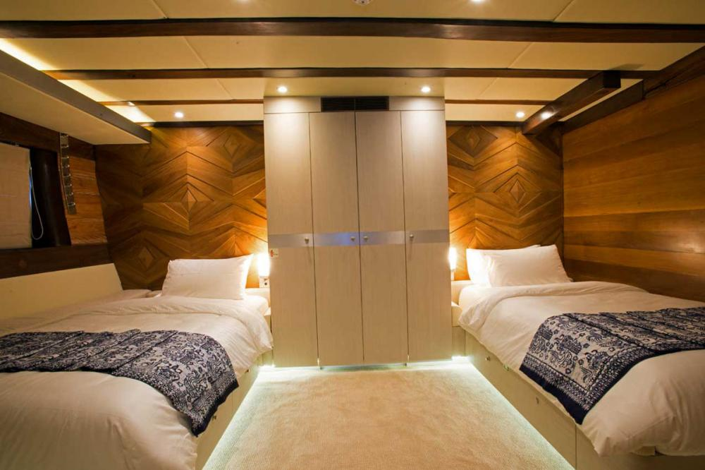 LAMIMA - Luxury Sailing Yacht For Charter - 2 TWIN CABINS - Img 1 | C&N
