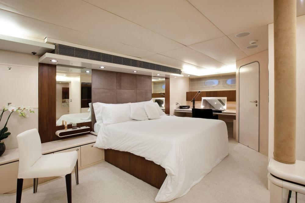 LIONSHARE - Luxury Motor Yacht For Charter - 1 MASTER CABIN - Img 1 | C&N