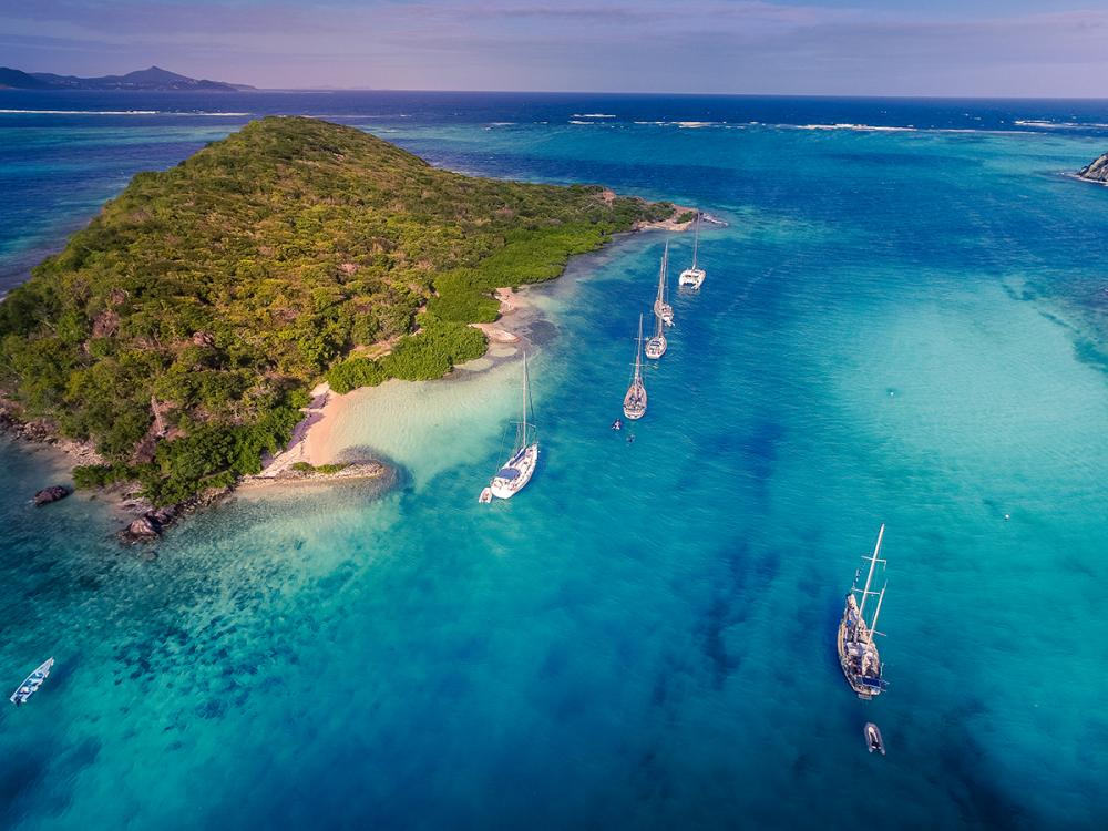 Grenada to St Lucia - TOBAGO CAYS - Luxury Charter Itinerary | C&N