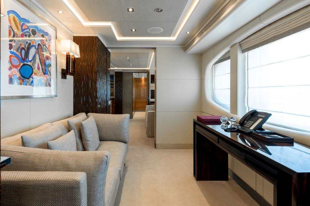 NASEEM - Luxury Motor Yacht For Sale - 1 MASTER CABIN - Img 3 | C&N