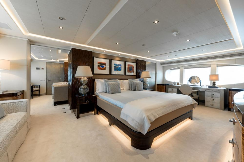 NASEEM - Luxury Motor Yacht For Sale - 1 MASTER CABIN - Img 1 | C&N