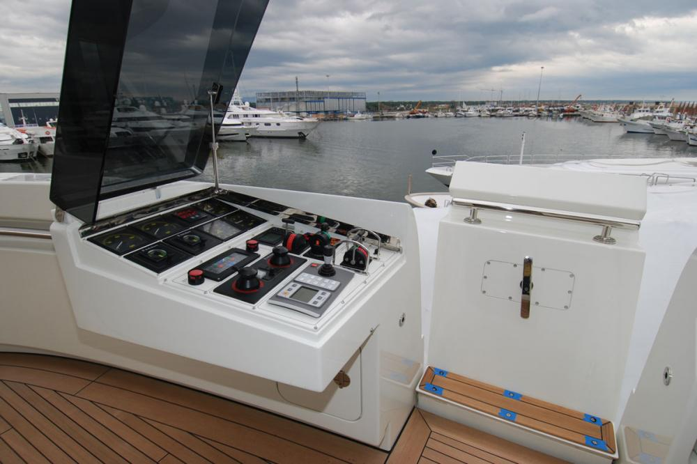 ROMA - Luxury Motor Yacht For Charter - BRIDGE - Img 2 | C&N