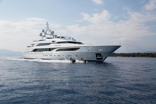 SILVER ANGEL - Luxury Motor Yacht for Charter | C&N