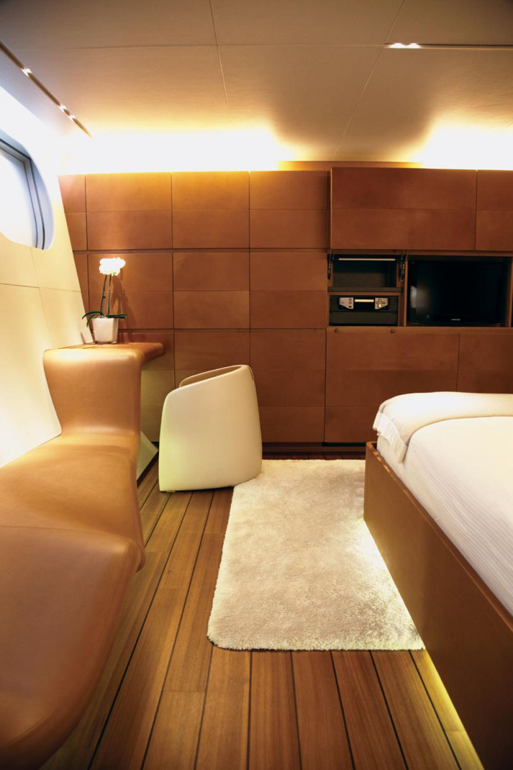 PANTHALASSA - Luxury Sailing Yacht For Charter - 4 DOUBLE CABINS - Img 8 | C&N
