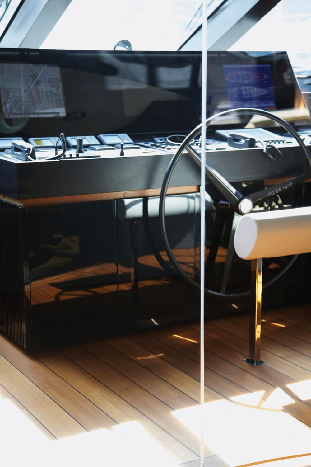 PANTHALASSA - Luxury Sailing Yacht For Charter - BRIDGE - Img 1 | C&N