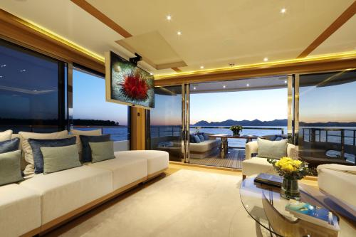 SOLIS - Luxury Motor Yacht For Charter - Interior Design - Img 3 | C&N