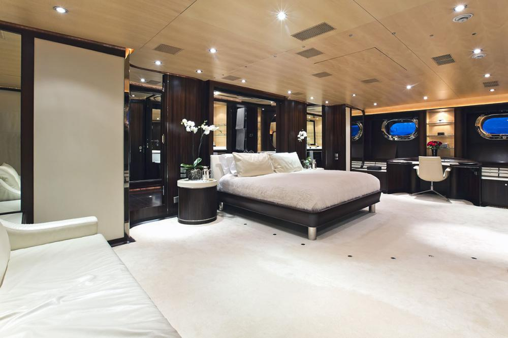 PARSIFAL III - Luxury Sailing Yacht For Charter - 1 MASTER CABIN - Img 1 | C&N