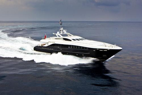 PERLE NOIRE - Luxury Motor Yacht For Sale - Exterior Design - Img 2 | C&N