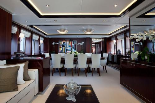 PERLE NOIRE - Luxury Motor Yacht For Sale - Interior Design - Img 2 | C&N
