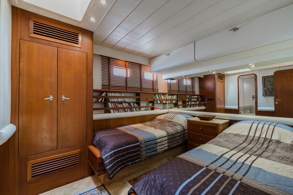 TARONGA - Luxury Sailing Yacht For Sale - 1 TWIN CABIN - Img 1 | C&N