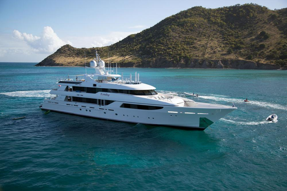 TRENDING - Luxury Motor Yacht for Charter | C&N