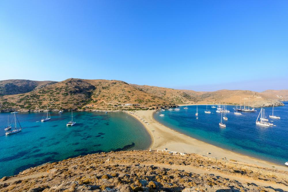 The Cyclades - ATHENS TO KYTHNOS - Luxury Charter Itinerary | C&N