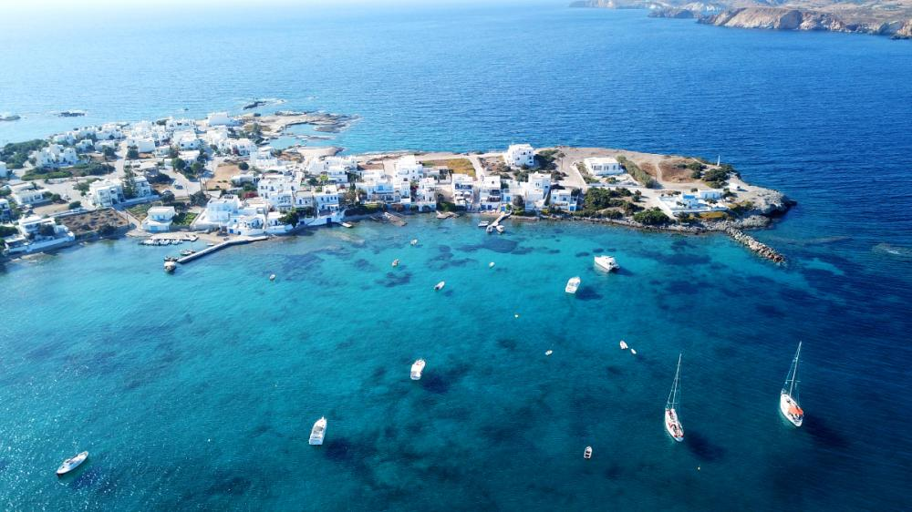The Cyclades - MILOS - Luxury Charter Itinerary | C&N