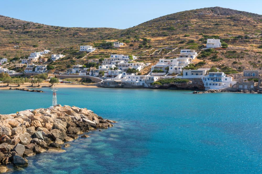 The Cyclades, Greece - SANTORINI TO SIKINOS - Luxury Charter Itinerary | C&N