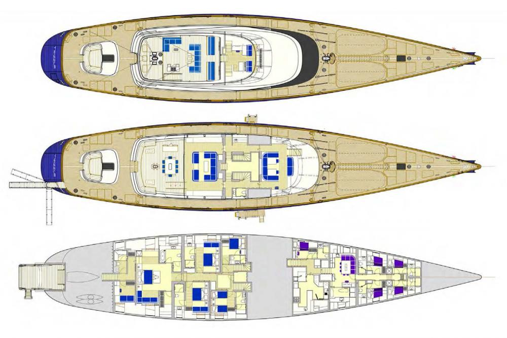 TWIZZLE - Luxury Sailing Yacht For Charter -  - Img 1 | C&N