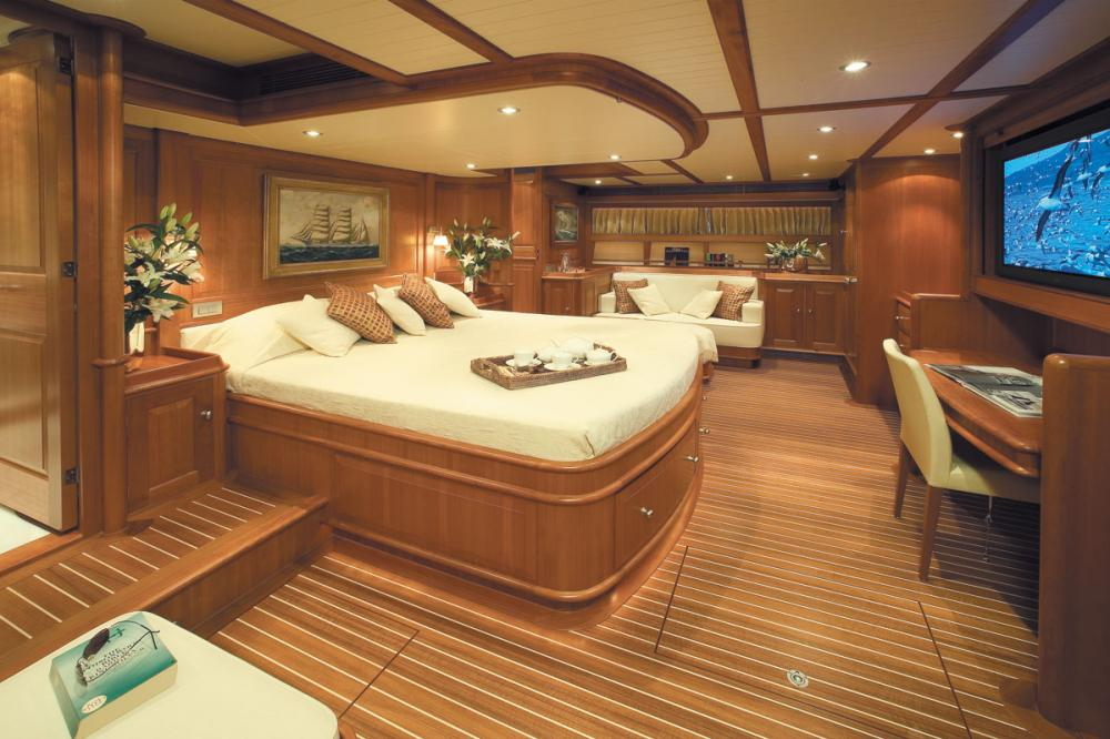 WELLENREITER - Luxury Sailing Yacht For Sale - 1 MASTER CABIN - Img 1 | C&N