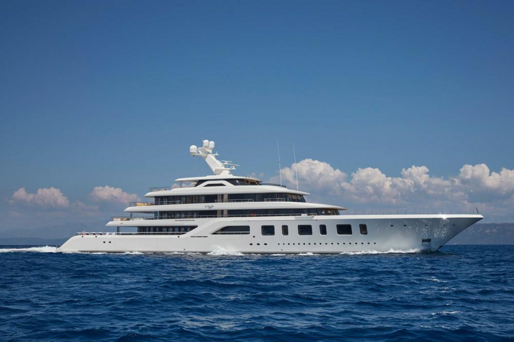 AQUARIUS - Luxury Motor Yacht for Charter | C&N