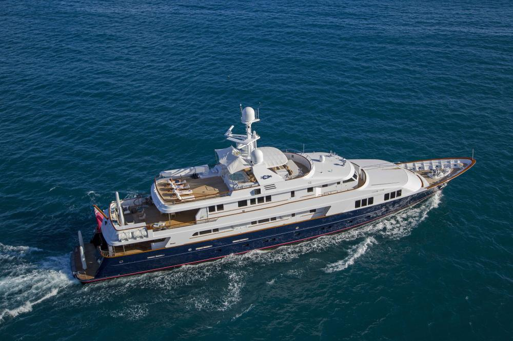 BLU 470 - Luxury Motor Yacht for Charter | C&N