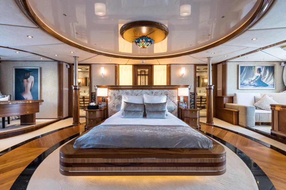 LEGEND - Luxury Motor Yacht For Charter - 1 MASTER CABIN - Img 3 | C&N