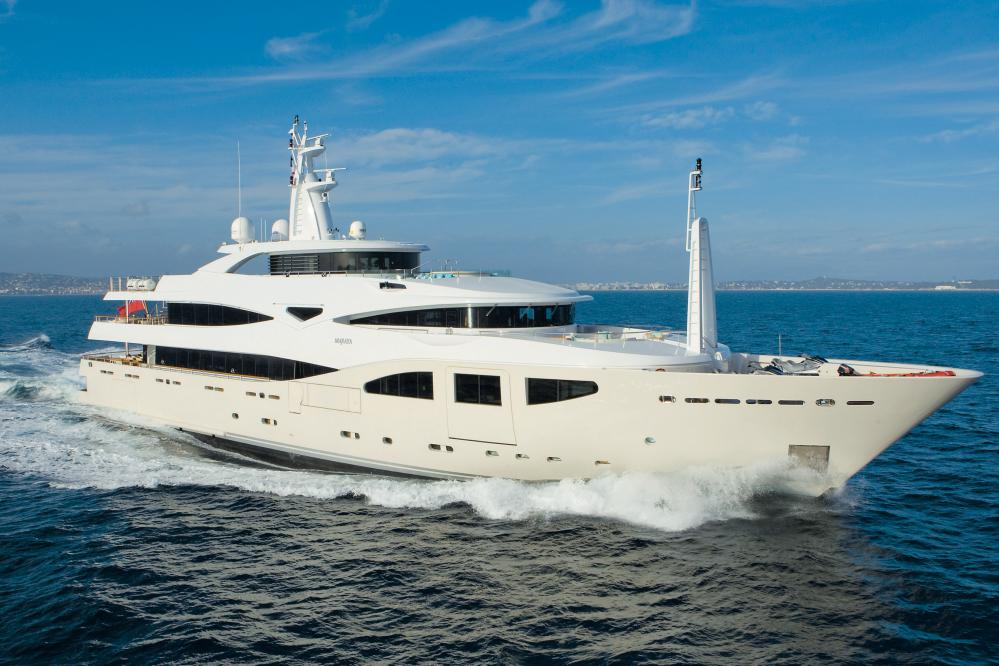 MARAYA - Luxury Motor Yacht for Charter | C&N