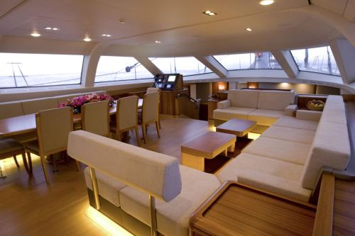 TWILIGHT - Luxury Sailing Yacht For Charter - Interior Design - Img 2 | C&N
