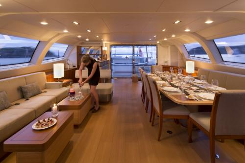 TWILIGHT - Luxury Sailing Yacht For Charter - Interior Design - Img 4 | C&N
