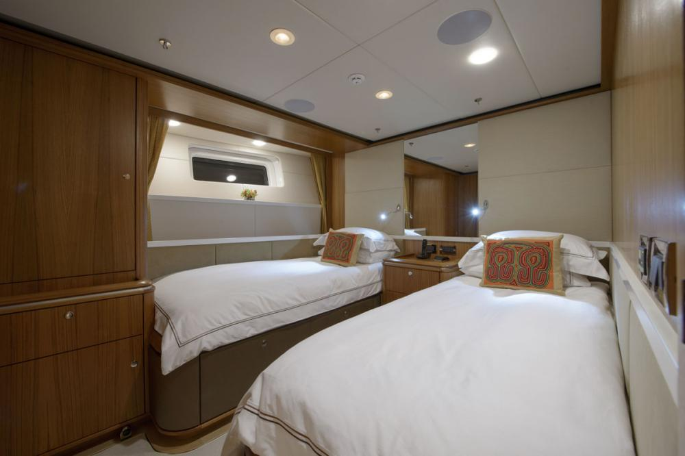 TWILIGHT - Luxury Sailing Yacht For Charter - 2 TWIN CABINS - Img 1 | C&N